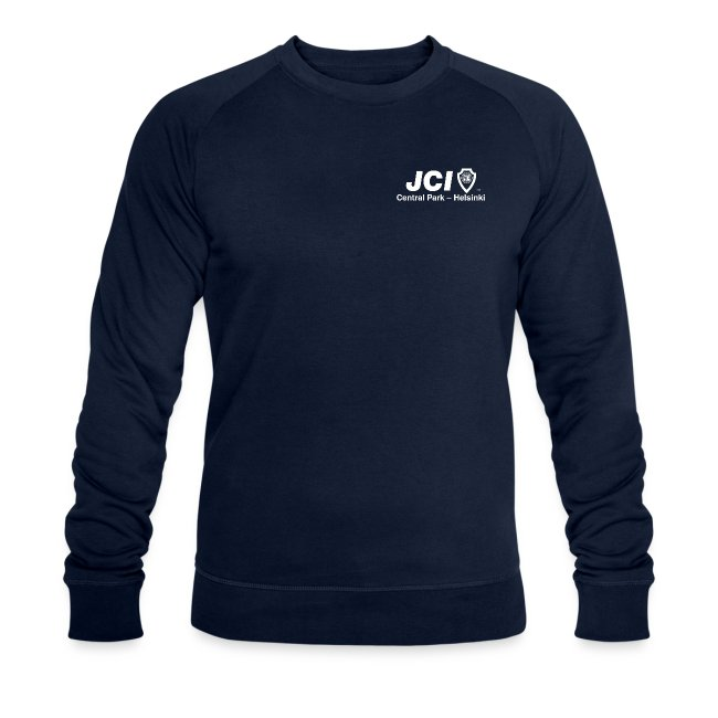 Collegepaita JCI ja I Love Central Park -logoilla