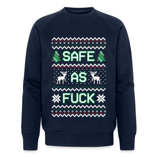 Christmas Jumper Safe AF - Men's Organic Sweatshirt by Stanley & Stella