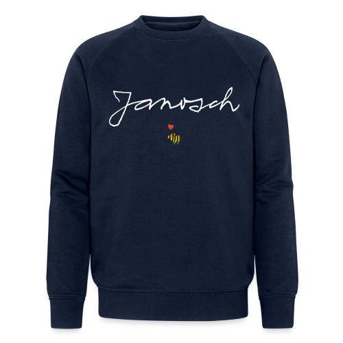 Janosch Schriftzug mit Tigerente - Männer Bio-Sweatshirt von Stanley & Stella