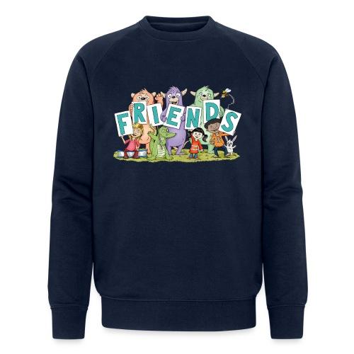 friends - Männer Bio-Sweatshirt
