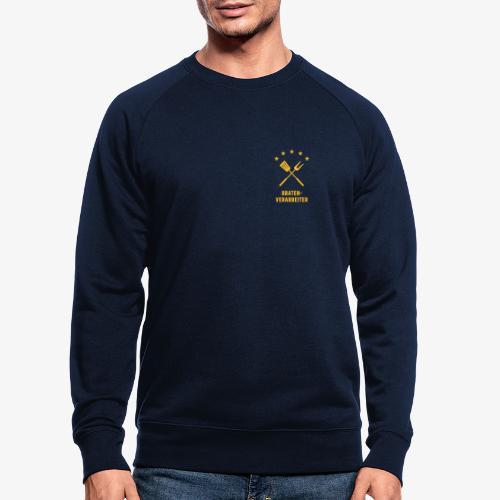 Braten-Verarbeiter - Männer Bio-Sweatshirt