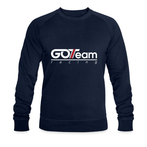 GOTeam Racing White - Ekologisk sweatshirt herr från Stanley & Stella
