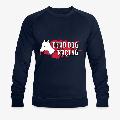 Dead dog racing logo - Men's Organic Sweatshirt