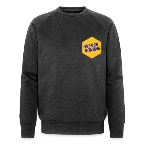 Svensk honung Hexagon Gul/Blå - Ekologisk sweatshirt herr från Stanley & Stella