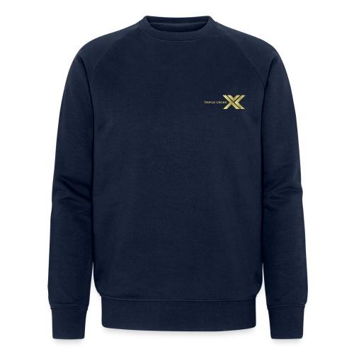 3 X logo TCM - Men's Organic Sweatshirt