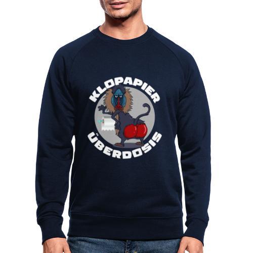 Lockdown Quarantäne Home Office Geschenk Klopapier - Männer Bio-Sweatshirt