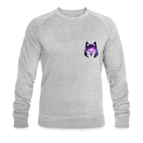 Galaxy wolf - Sweat-shirt bio