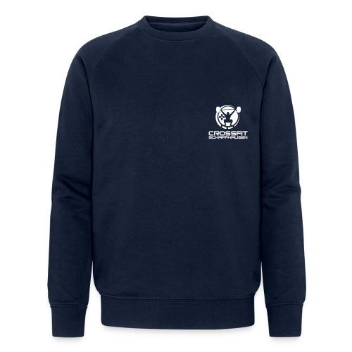 CFSlogo_white_BIG - Männer Bio-Sweatshirt