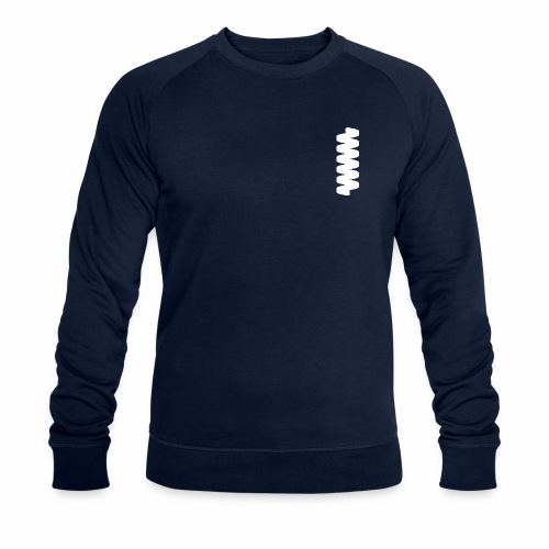 psipred standard logomark - Men's Organic Sweatshirt by Stanley & Stella