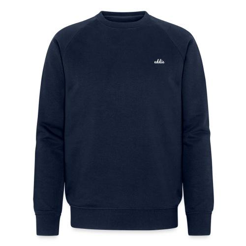 eddie signature line white - Männer Bio-Sweatshirt von Stanley & Stella