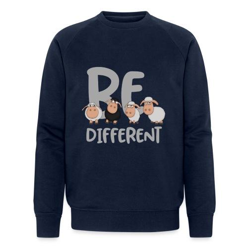 Be different Schafe: Einzigartiges schwarzes Schaf - Männer Bio-Sweatshirt von Stanley & Stella