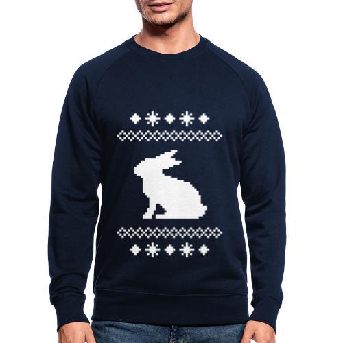 Norwegerhase hase kaninchen häschen bunny langohr - Männer Bio-Sweatshirt