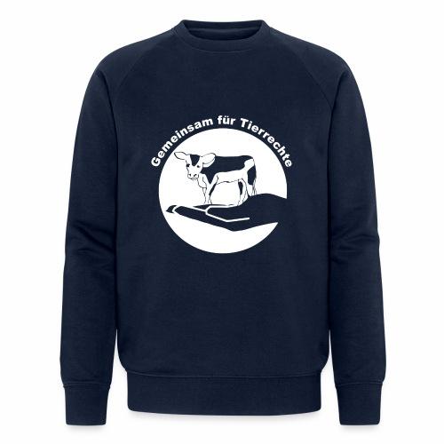 Logo schwarz png - Männer Bio-Sweatshirt