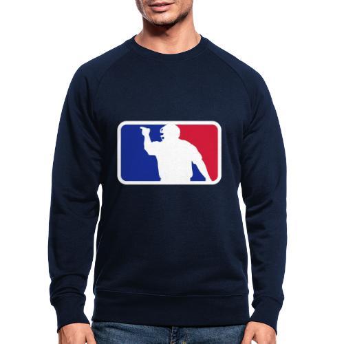 Baseball Umpire Logo - Men's Organic Sweatshirt