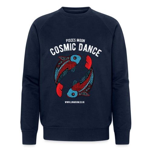Pisces Moon Dark - Men's Organic Sweatshirt by Stanley & Stella