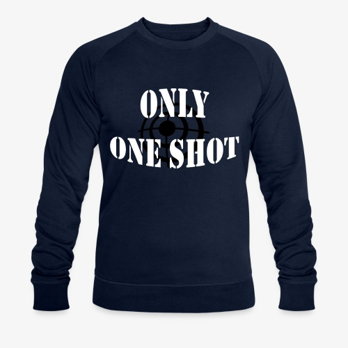 Only one shot - Sweat-shirt bio Stanley & Stella Homme
