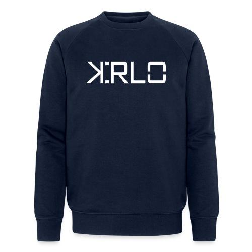 Kirlo Logo Blanco - Sudadera ecológica hombre de Stanley & Stella
