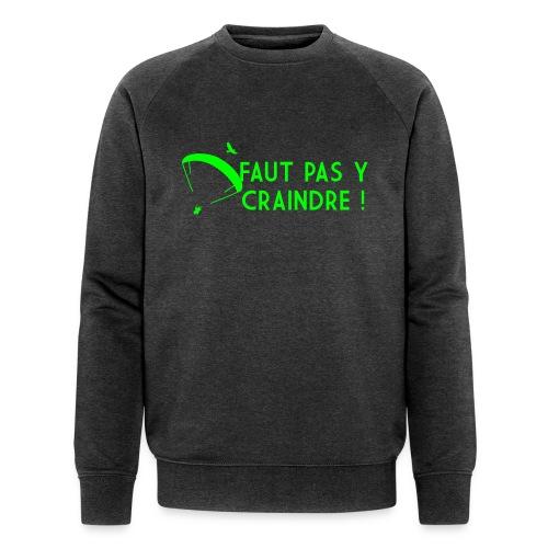 Faut pas y craindre - Parapente - Sweat-shirt bio Stanley & Stella Homme