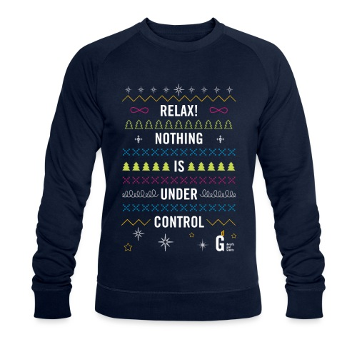 Ugly Christmas Sweater - Men's Organic Sweatshirt