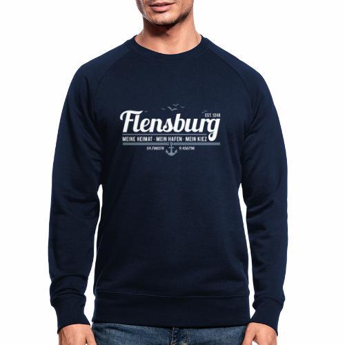 Flensburg - meine Heimat, mein Hafen, mein Kiez - Männer Bio-Sweatshirt
