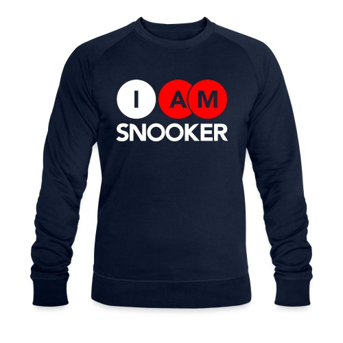 I AM SNOOKER - Men's Organic Sweatshirt by Stanley & Stella