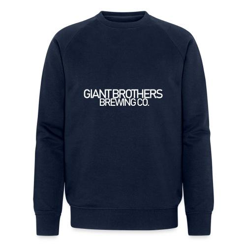 Giant Brothers Brewing co white - Ekologisk sweatshirt herr