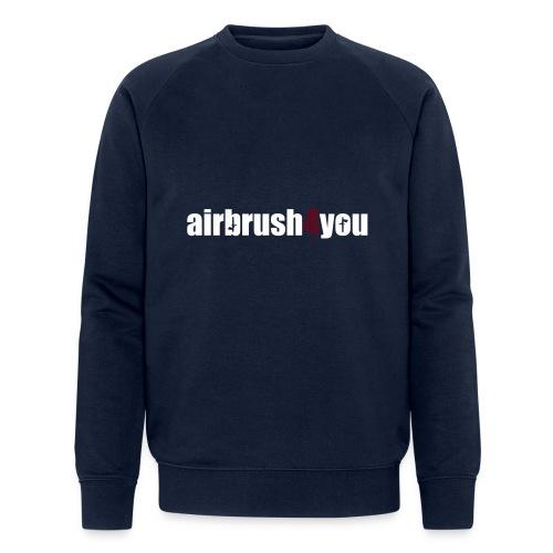 Airbrush - Männer Bio-Sweatshirt