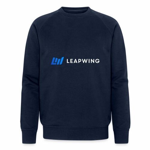 Leapwing logo - Men's Organic Sweatshirt by Stanley & Stella
