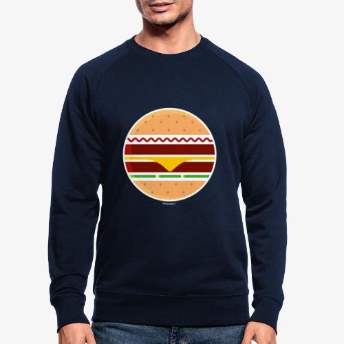 Circle Burger - Felpa ecologica da uomo
