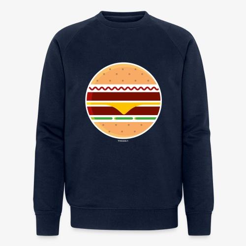 Circle Burger - Felpa ecologica da uomo di Stanley & Stella