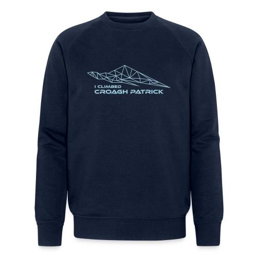 I climbed Croagh Patrick Geometric Design - Men's Organic Sweatshirt by Stanley & Stella