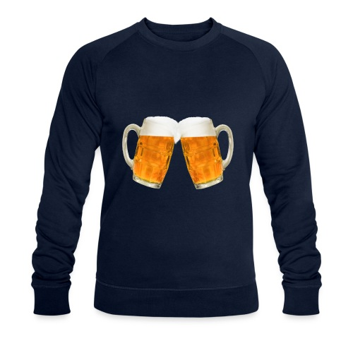 Zwei Bier - Männer Bio-Sweatshirt von Stanley & Stella
