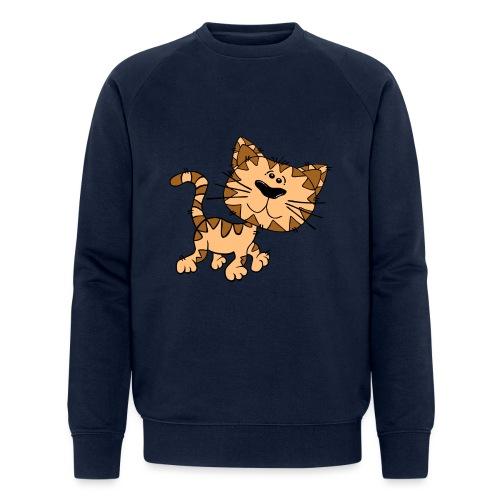 Cat - Männer Bio-Sweatshirt von Stanley & Stella