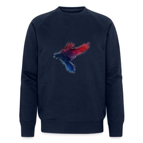Watercolor Raven - Männer Bio-Sweatshirt von Stanley & Stella