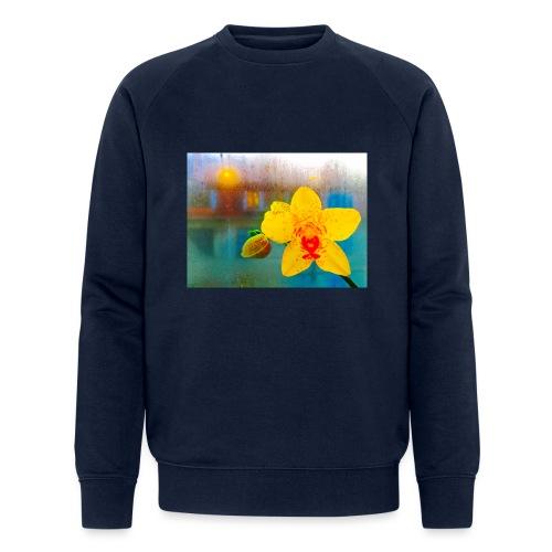The orchid in the window - Økologisk sweatshirt til herrer