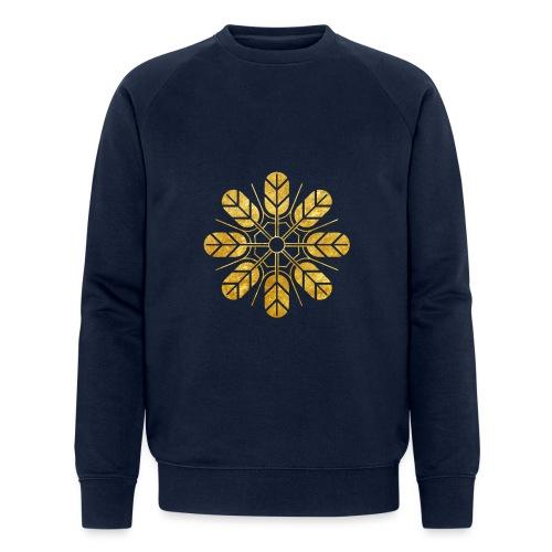 Inoue clan kamon in gold - Men's Organic Sweatshirt by Stanley & Stella