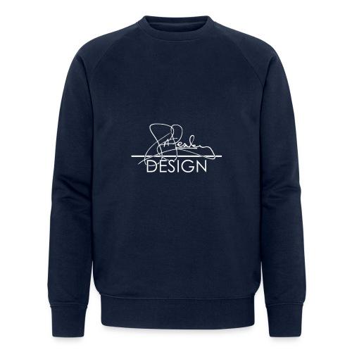 sasealey design logo wht png - Men's Organic Sweatshirt