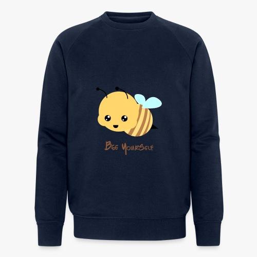 Bee Yourself - Økologisk sweatshirt til herrer