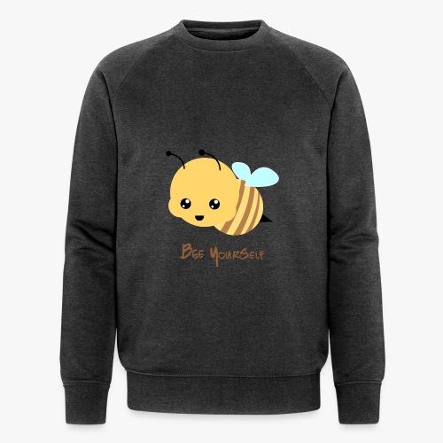 Bee Yourself - Økologisk Stanley & Stella sweatshirt til herrer