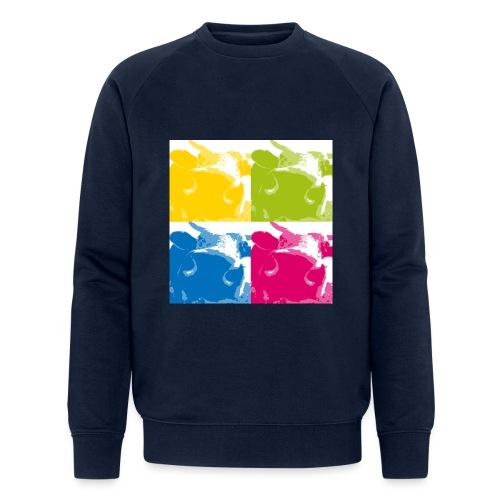 4 Kühe - Männer Bio-Sweatshirt von Stanley & Stella