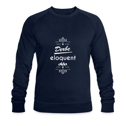 Derbe Eloquent Alda Weiß - Men's Organic Sweatshirt by Stanley & Stella