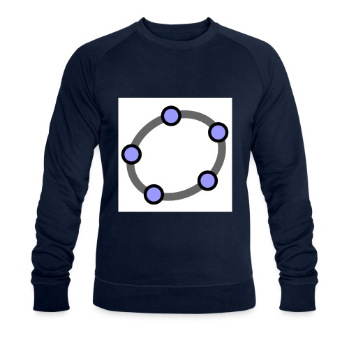 GeoGebra Ellipse - Men's Organic Sweatshirt by Stanley & Stella