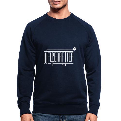 Welpenretter - Männer Bio-Sweatshirt