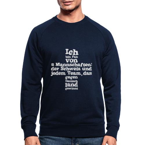 Fan von zwei Mannschaften - Männer Bio-Sweatshirt