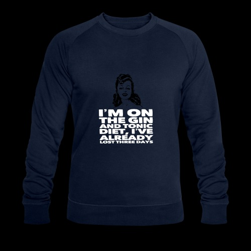 Vintage lady funny quote - Men's Organic Sweatshirt by Stanley & Stella