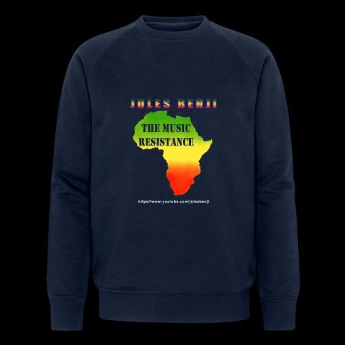 JULES BENJI & MUSIC RESISTANCE africa design - Men's Organic Sweatshirt by Stanley & Stella