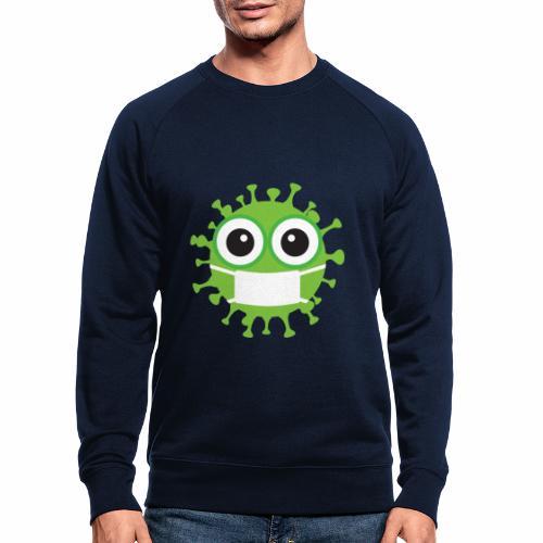 Uśmiechnij się pod maską - Ekologiczna bluza męska