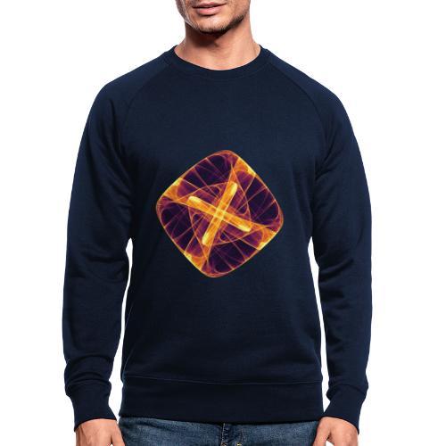 Chakra Mandala Mantra OM Chaos Star Circle 12255i - Men's Organic Sweatshirt