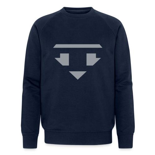 Twanneman logo Reverse - Mannen bio sweatshirt