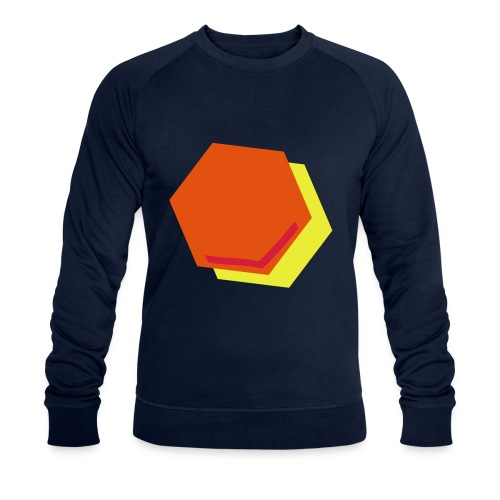detail2 - Mannen bio sweatshirt
